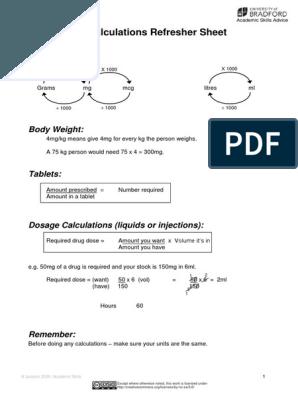 Drug Calculations For Nurses Drug Calculations Nursing Fundamentals Of Nursing Nursing Notes