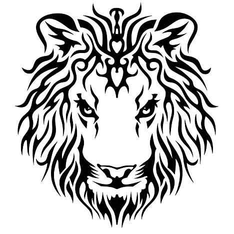 Tribal Crown Tattoo Designs Tribal King Crown Tribal Lion King Tattoo Design Lion Head Tattoos Lion King Tattoo Lion Tattoo Design