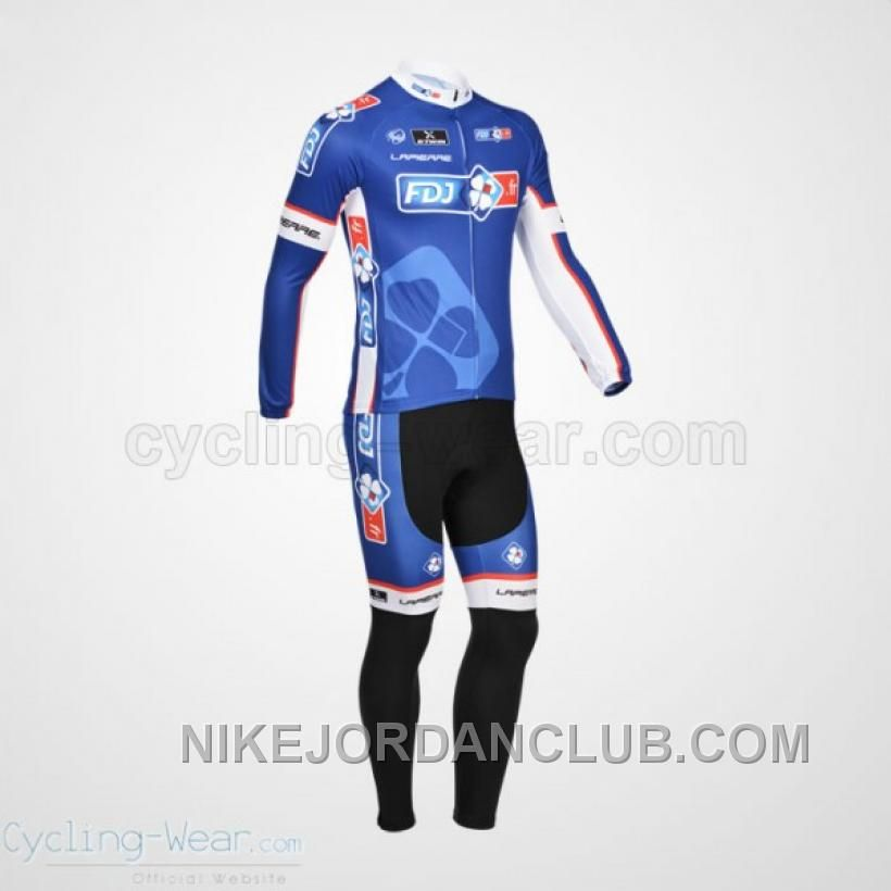 Buy 2013 Fdj Fr Long Sleeve Jersey And Tight Cycling Team Kit Lastest from  Reliable 2013 Fdj Fr Long Sleeve Jersey And Tight Cycling Team Kit Lastest  ... 7e594fe35