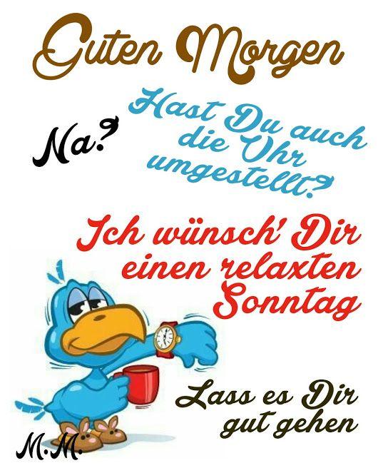 Pin Von Hanne Uebbing Auf Sprüche Guten Morgen Witzige