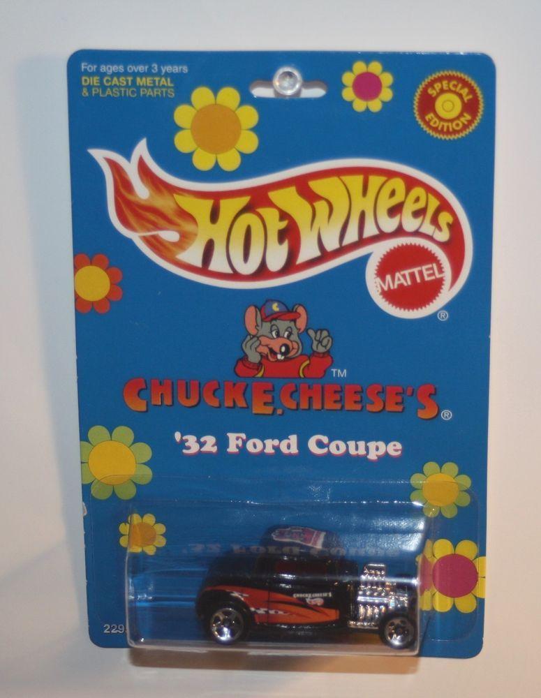 Hot Wheels 2000 Promo Chuck E Cheese S 32 Ford Coupe Hotwheels