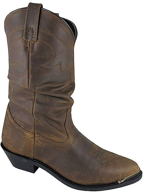 47881667bf5 Smoky Mountain Boots Western Leather Slouch Skylar 6251 Womens Brown ...