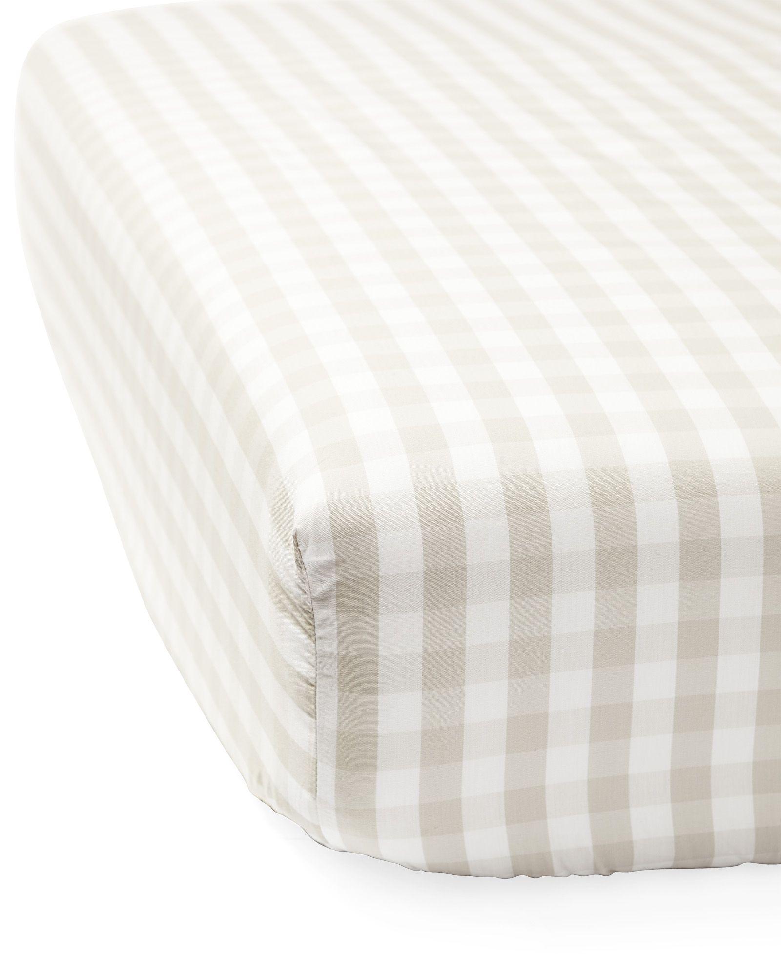 Gingham Crib Sheet Serena Lily Site