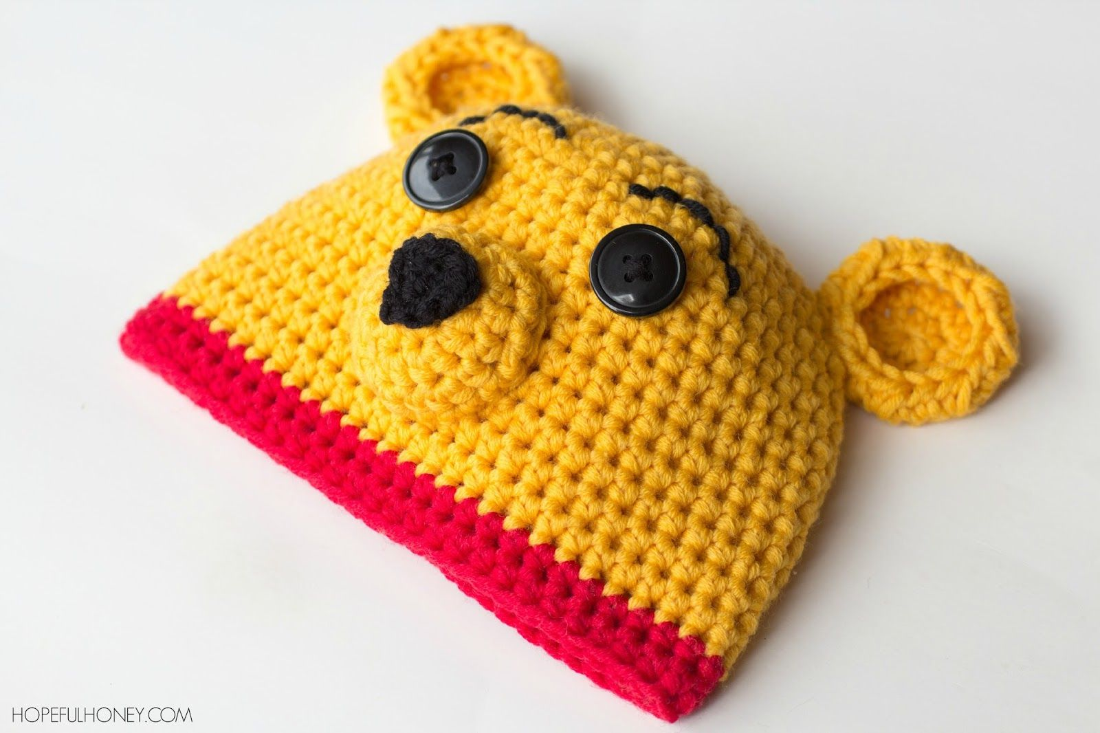 Winnie The Pooh Inspired Hat & Diaper Cover - Free Crochet Pattern ...