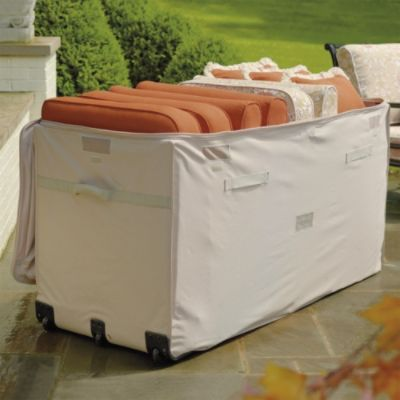 Ultimate Cushion Keeper Frontgate Garden Storage Cushions Patio Furniture