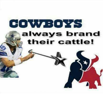 Cowboys Brand Their Cattle Dallas Cowboys Memes Texans