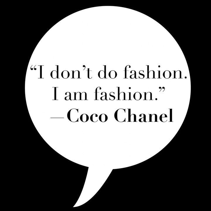 Iconic Words From Coco Chanel Icon Fashion Wordstoliveby