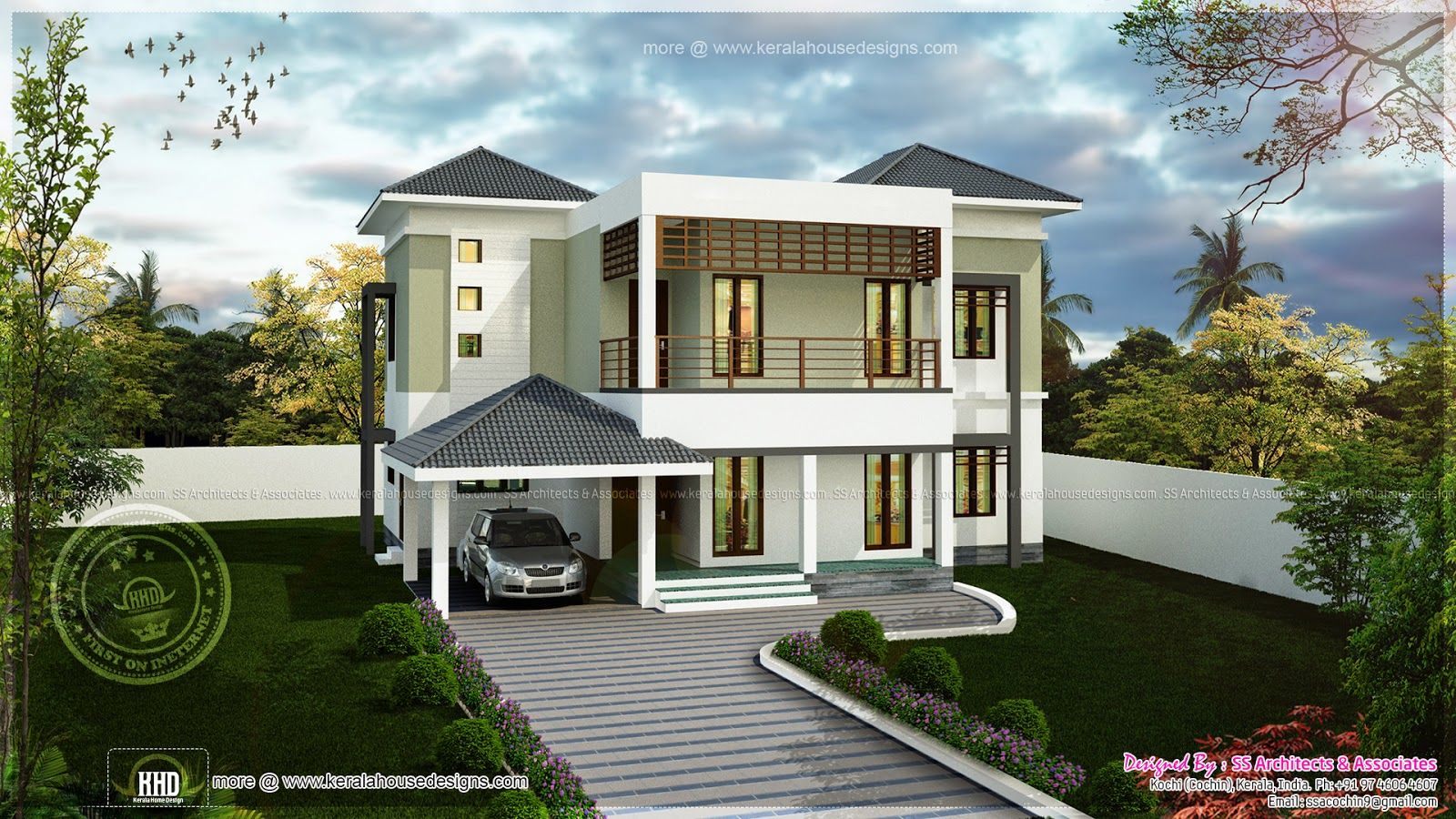 Modern House Designs Indian Style