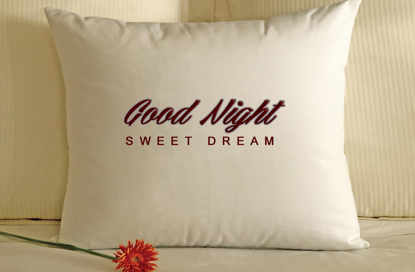 good night sweet dreams pillow good
