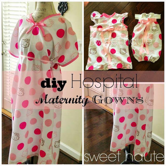 Diy Maternity Hospital Gown Free Pattern Diy Maternity
