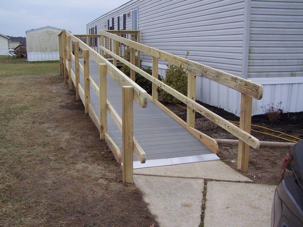 Aluminum modular ramps provide Portable Handicap Ramps