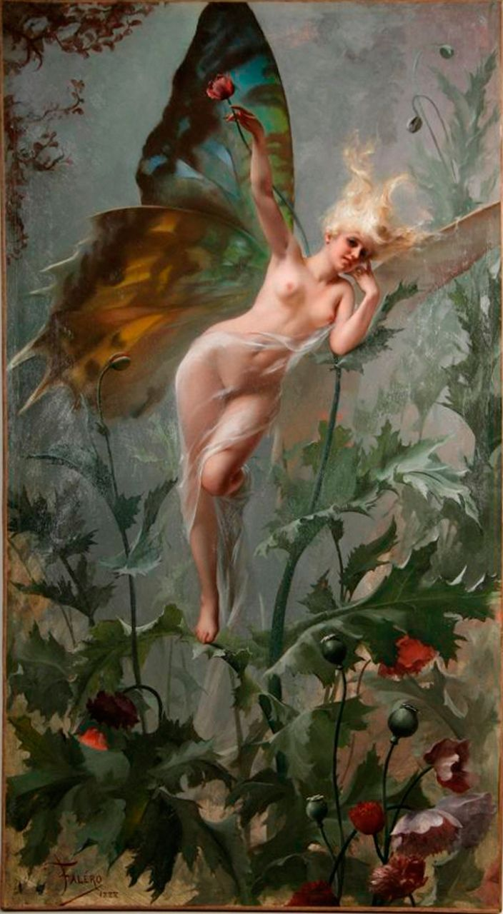 art Nude fairies