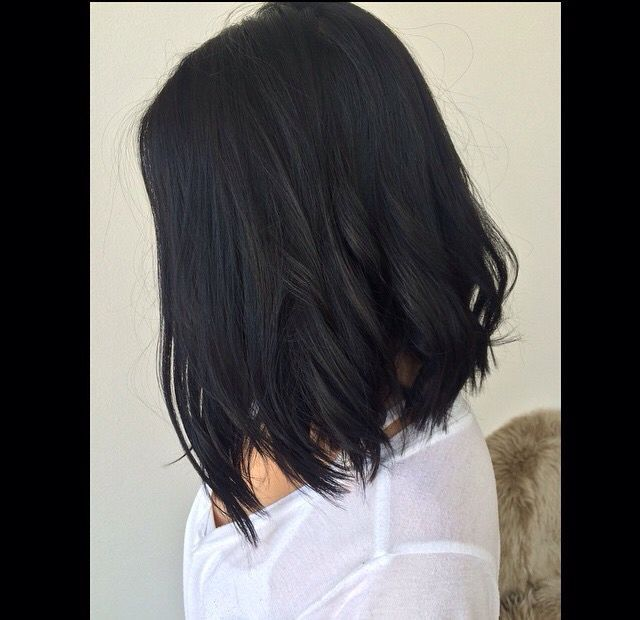 In Love With My Hair Lob Haircut Black Short Curls Long Bob Styles Care Pinterest And