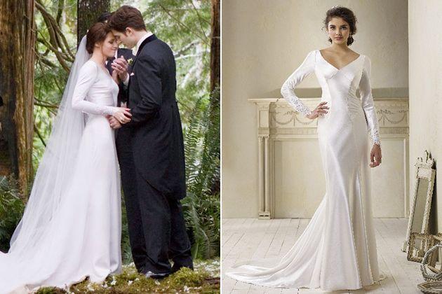 The Twilight Saga Breaking Dawn Part 1 Wedding Dress