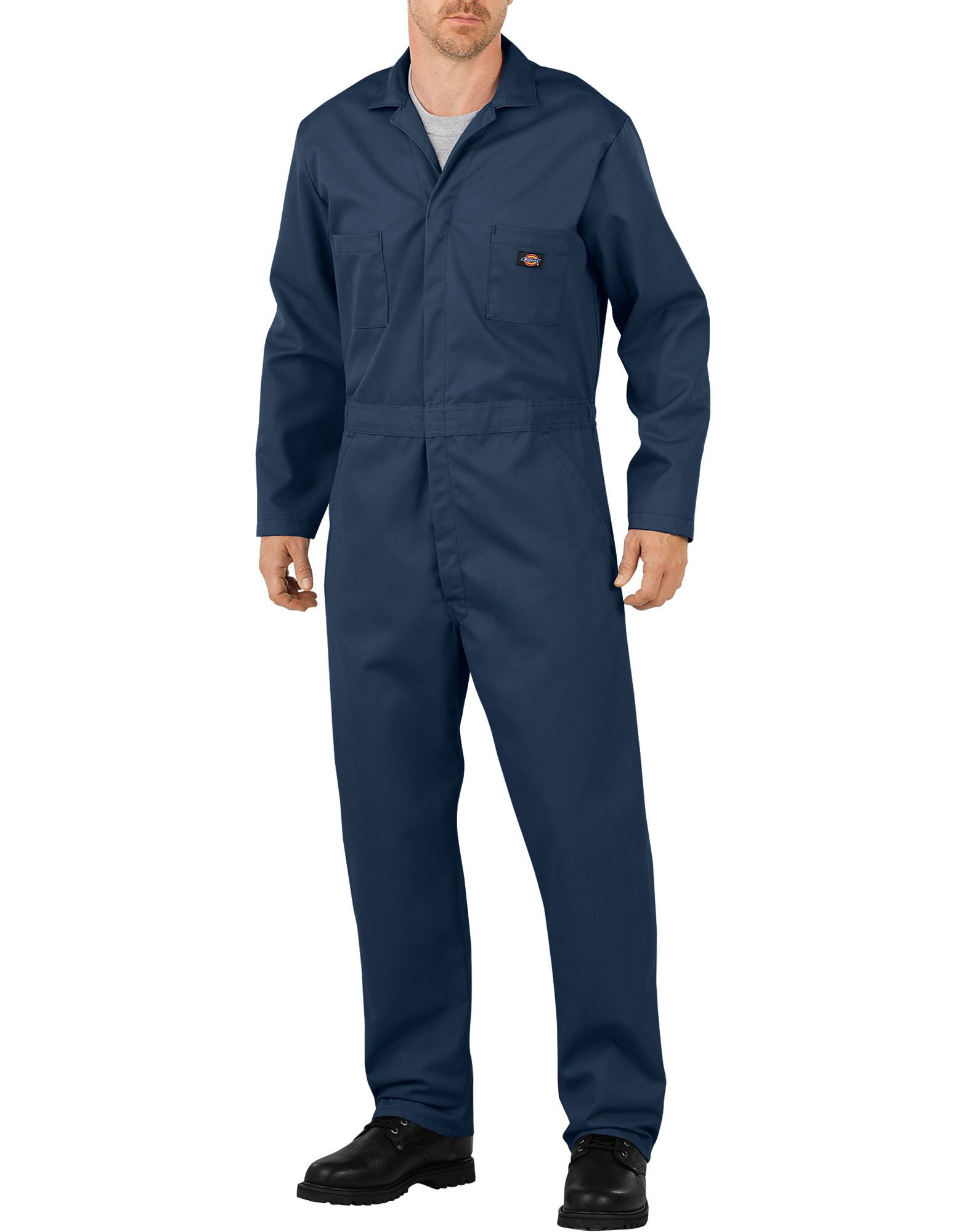 flex long sleeve coveralls dark navy mens coveralls on best insulated coveralls for men id=31892