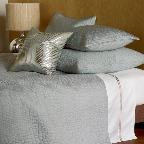 Blissliving Home Alligator Coverlet Set, Pebble, Full/Queen Bliss Living  Home,http://www.amazon.com/dp/B004GJW2VQ/refu003dcm_sw_r_pi_dp_QxEBsb12MACDFVBA