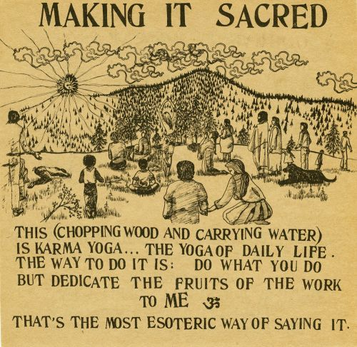 Chop Wood Carry Water Ram Dass Quotes Compassion Quotes Be Here Now Book