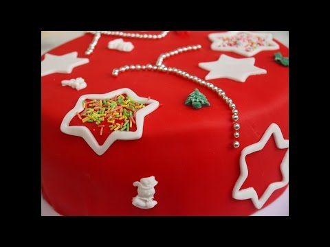 Weihnachten Backen Für Anfänger Torte Dekorieren Mit Fondant Torte