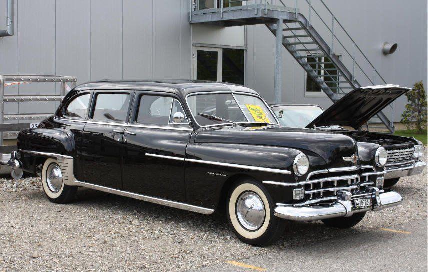 1952 Chrysler Imperial With Images Chrysler Cars Chrysler