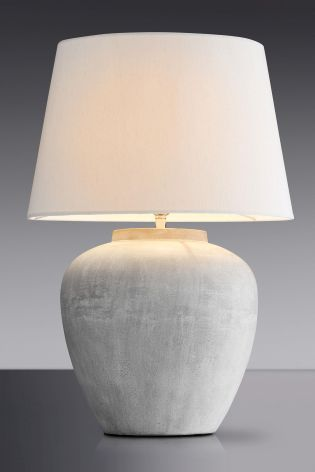 Buy Online Metal Table Lamps with Cloth