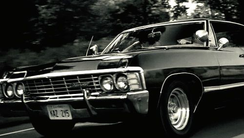 67 4 Door Chevy Impala Or Baby Supernatural Supernatural