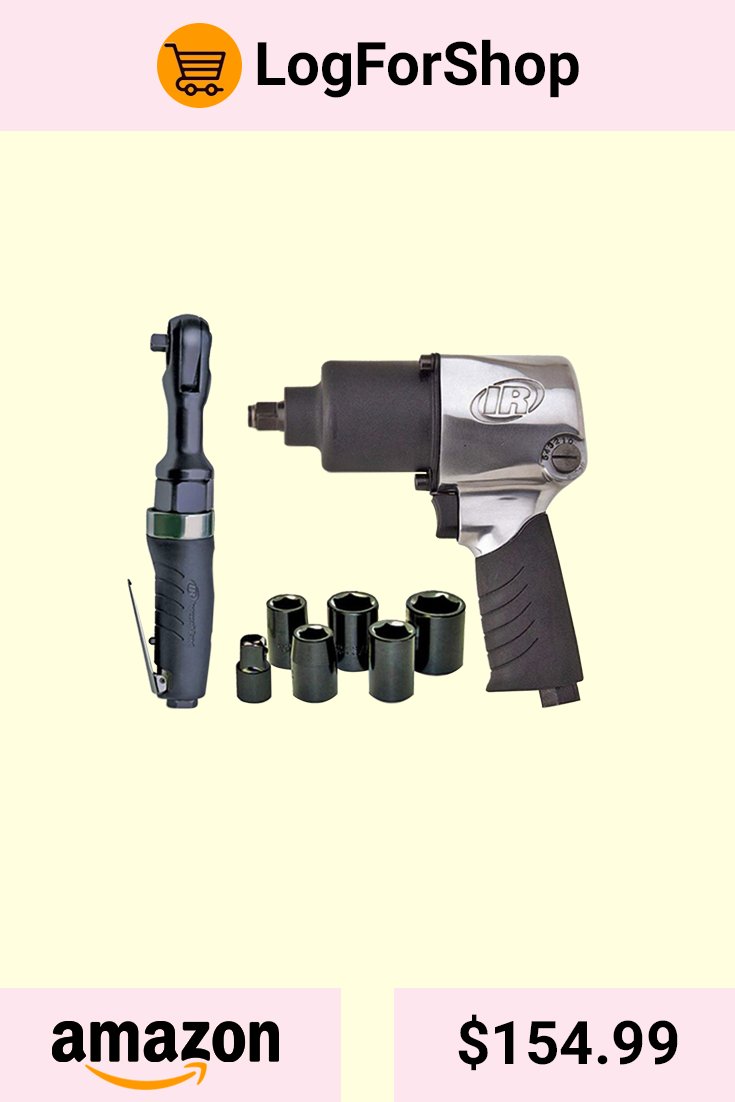 Ingersoll Rand 2317G Edge Series Air Impactool and Ratchet