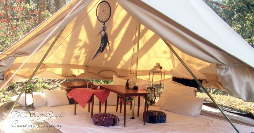5 Romantic Glamping Spots Close to Sydney | Tent glamping ...