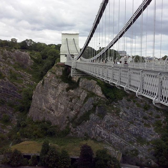 Clifton bridge #bridge #clifton #trip #bristol by joanna.bronisz9