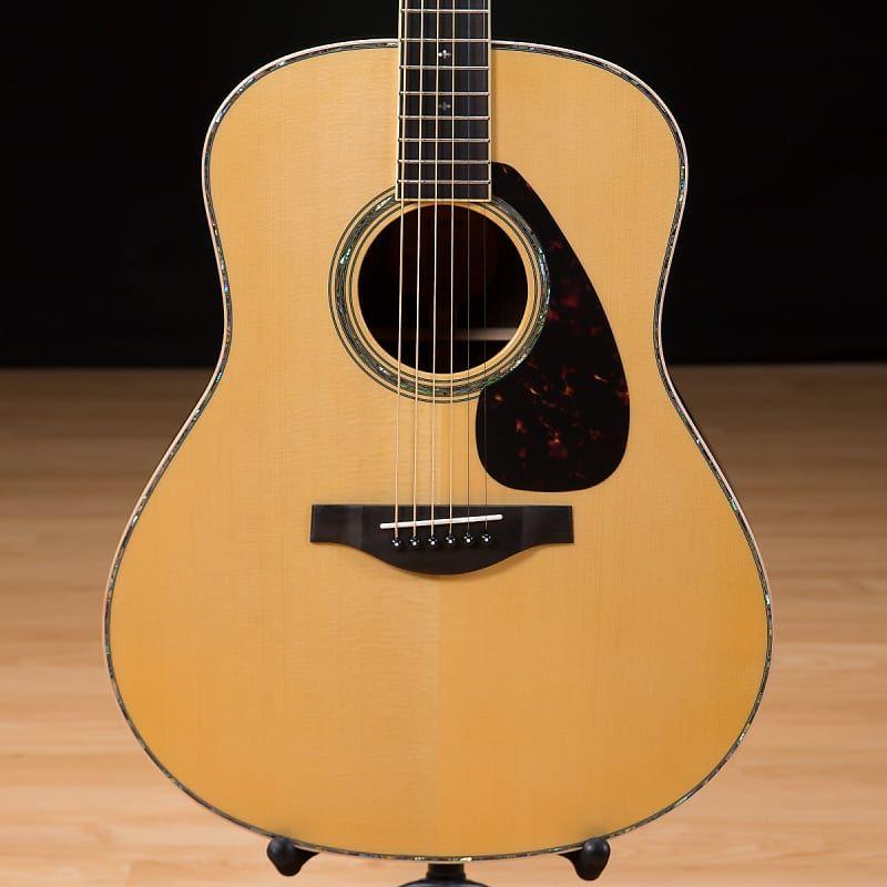 Yamaha Ll16d Jumbo Acoustic Guitar Natural Reverb Acoustic Electric Guitar Acoustic Electric Guitar