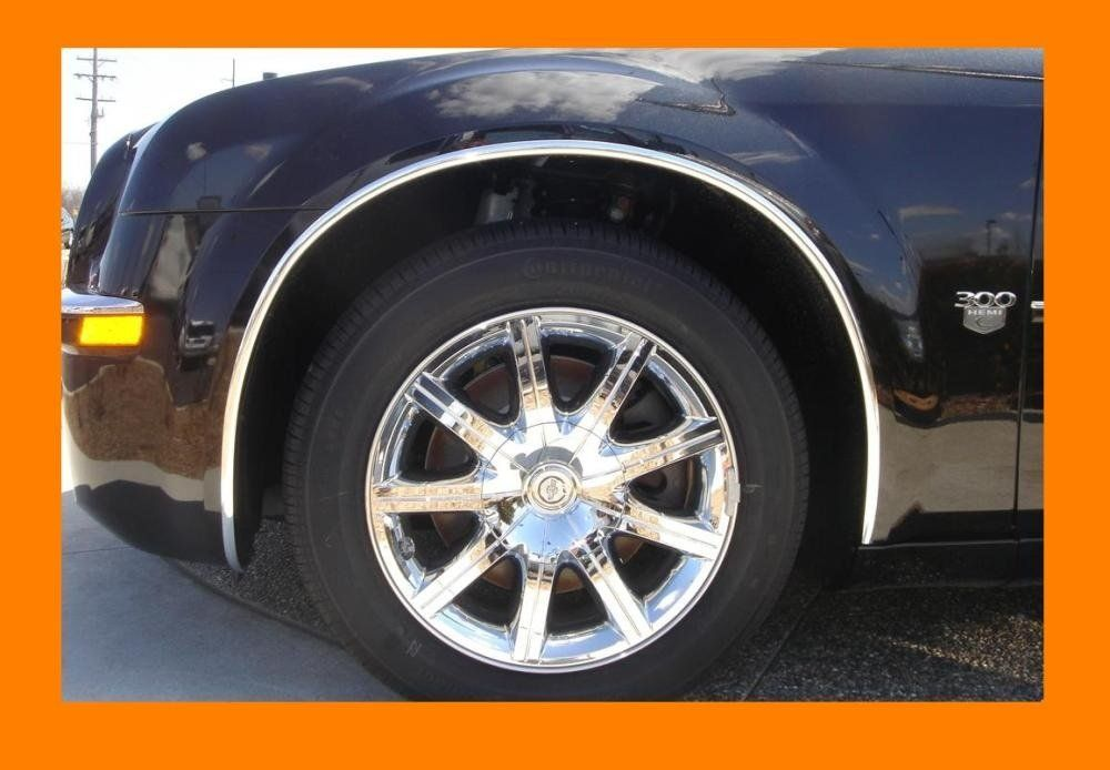 1998-2010 VW VOLKSWAGEN BEETLE CHROME WHEEL WELL MOLDINGS FENDER TRIM KIT 4PC 1999 2000 2001 2002 2003 2004 2005 2006 2007 2008 2009 98 99 00 01 02 03 04 05 06 07 08 09 10