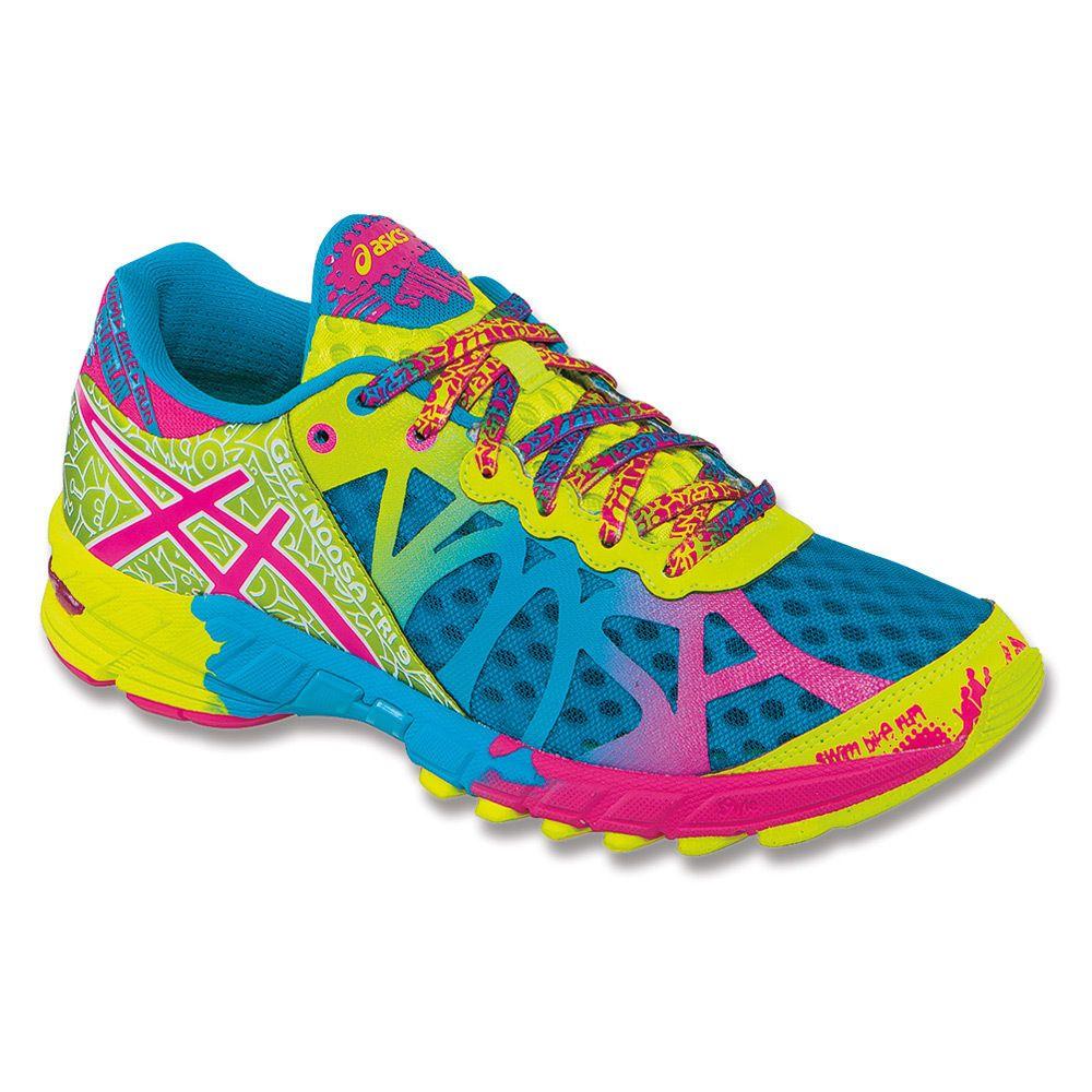Asics Gel-Noosa TRI 9 Women Capri Blue/Raspberry Running Shoes