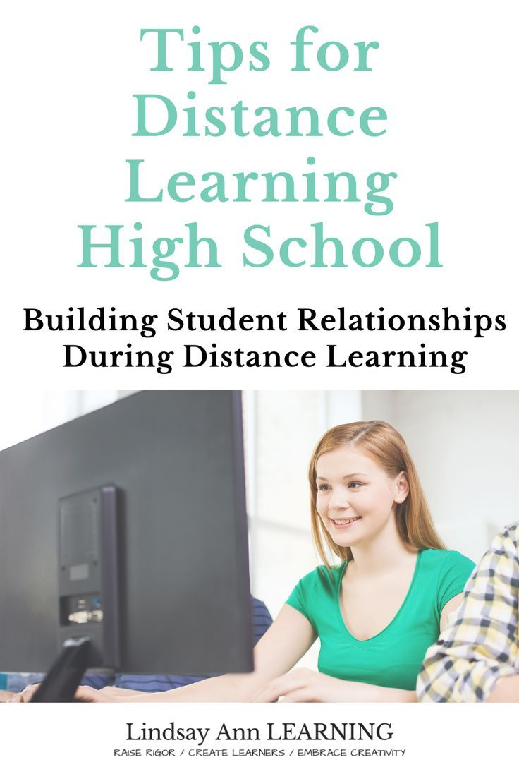 Building Student Relationships During Distance Learning