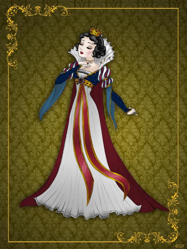 Queen SnowWhite - Disney Queen designer collection by GFantasy92 on DeviantArt