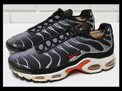 timeless design 710ed 2b38b Vintage 1998 Nike Air Max Plus TN Tuned Deluxe Tailwind Size ...