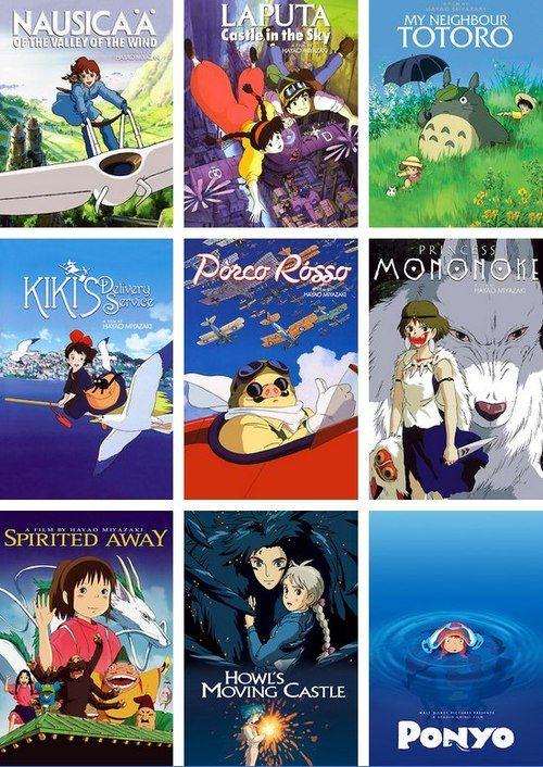 Hayao Miyazaki films