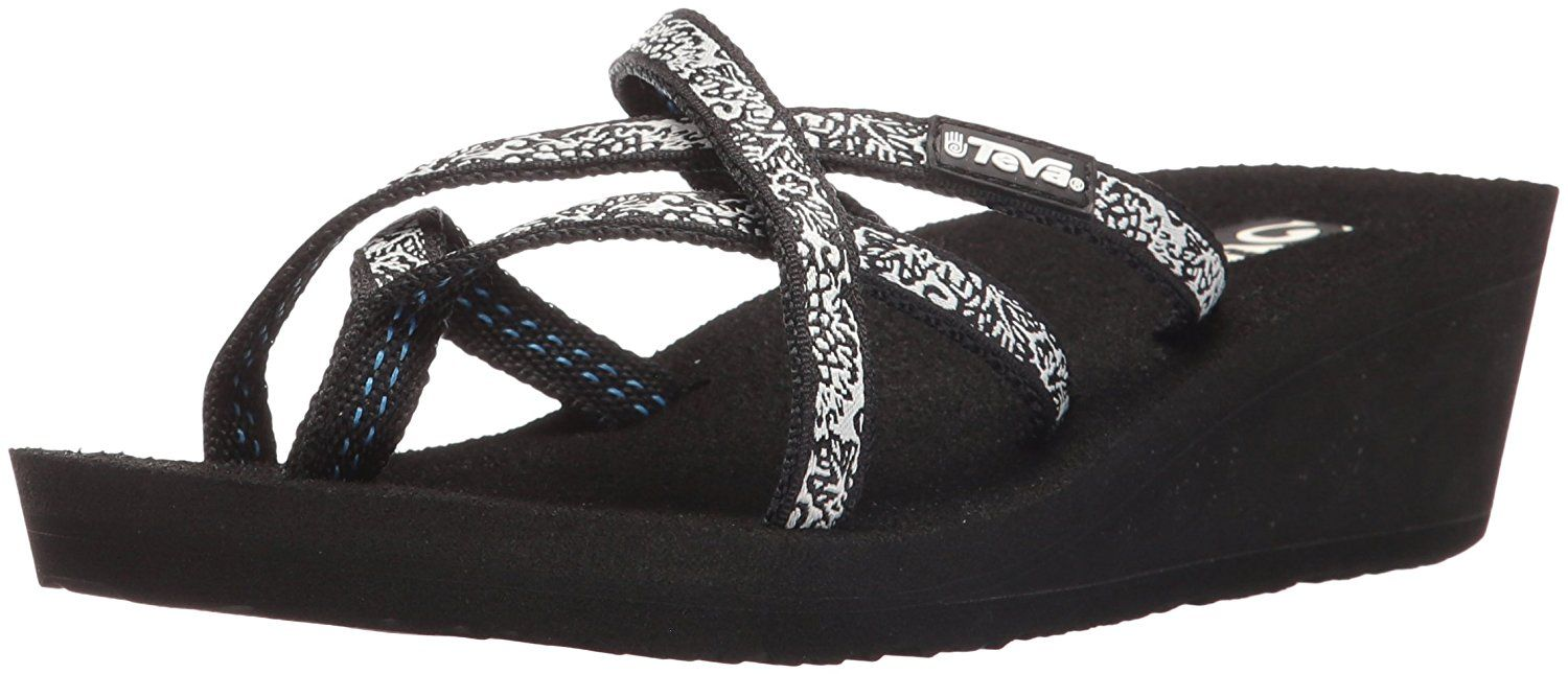 90875282f Teva Women s Mush Mandalyn Ola Wedge Sandal (Pack of Two)    More ...