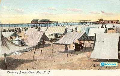 Vintage Cape May Postcard