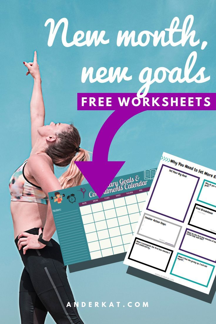 Set effective goals with these FREE goal-setting worksheets. *FINALLY* achieve your goals and get re...
