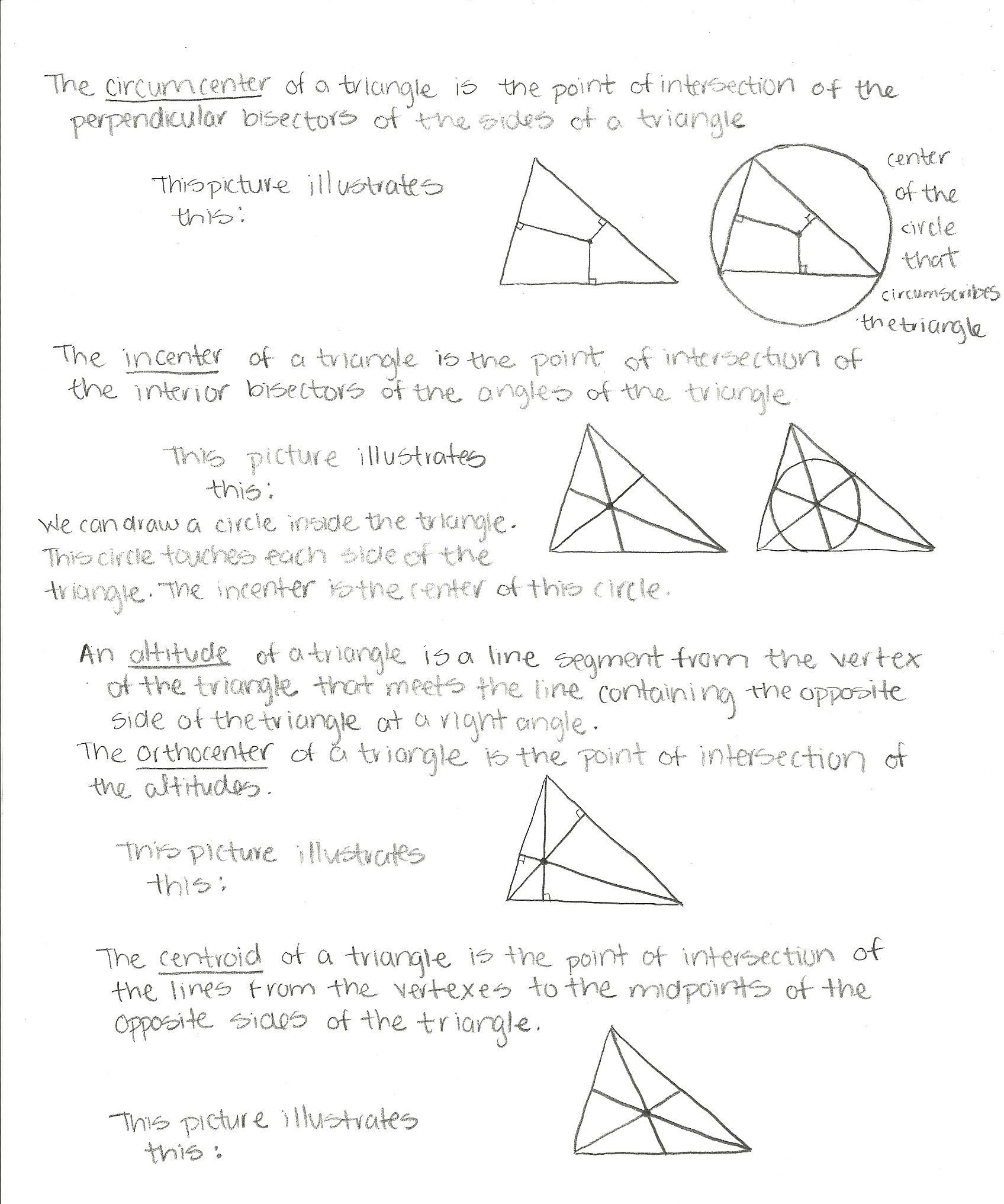 Center Of Triangles Jpg Triangle Worksheet Scientific Notation Practice Worksheets
