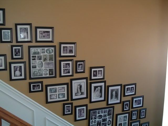 Stairs 13 | hanging pictures | Pinterest | Hanging pictures ...
