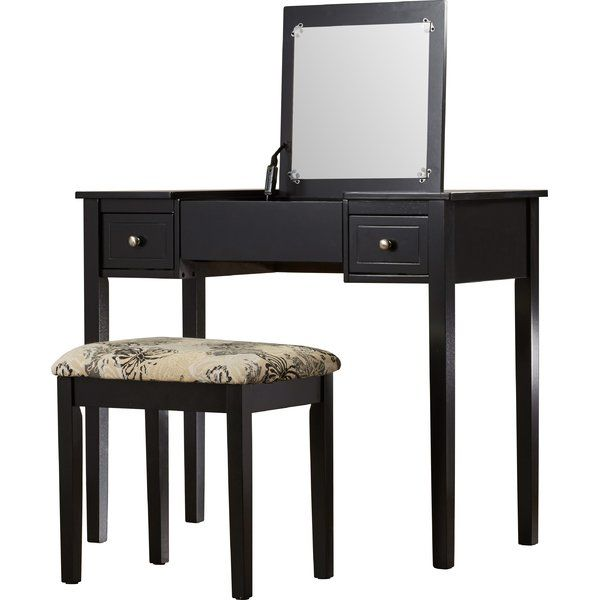Bring style and sophistication to any space in your home with this - Bedroom Vanity Table