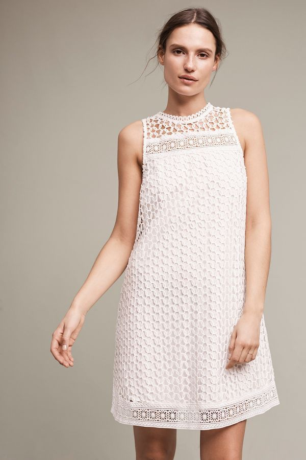 Slide View: 1: Snowscape Lace Swing Dress