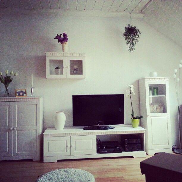 home affaire m bel moderner landhausstil living home inspiration in 2018 pinterest. Black Bedroom Furniture Sets. Home Design Ideas