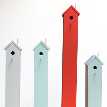 Studio Chad Wright < Back to Pets  Flying High Birdhouses