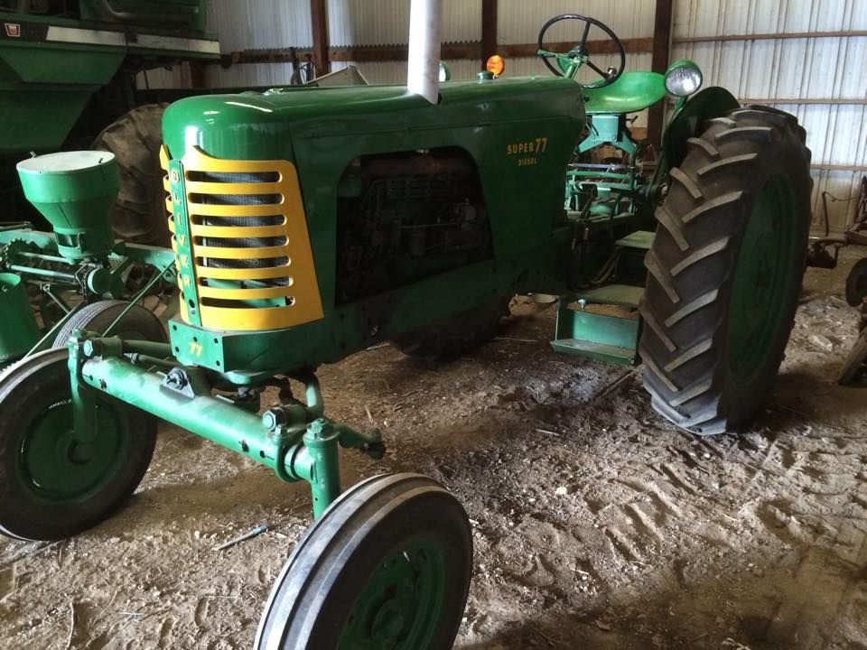 Oliver Three Point Hitch : Quot here is my friend s oliver super diesel it