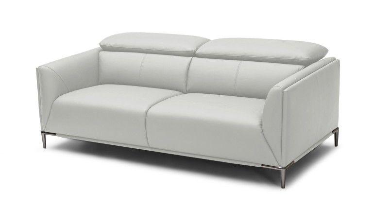 canape 3places dossier modulable cuir pvc gris9015 akano mobiliermoss
