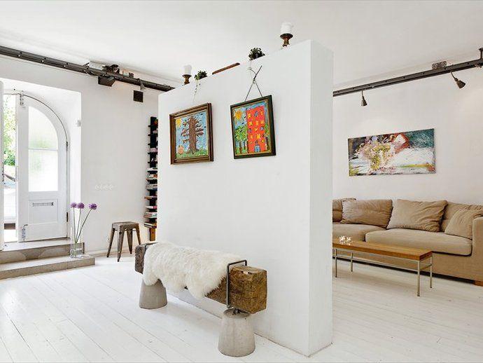 La maison danna g. loft ideas room divider design living room