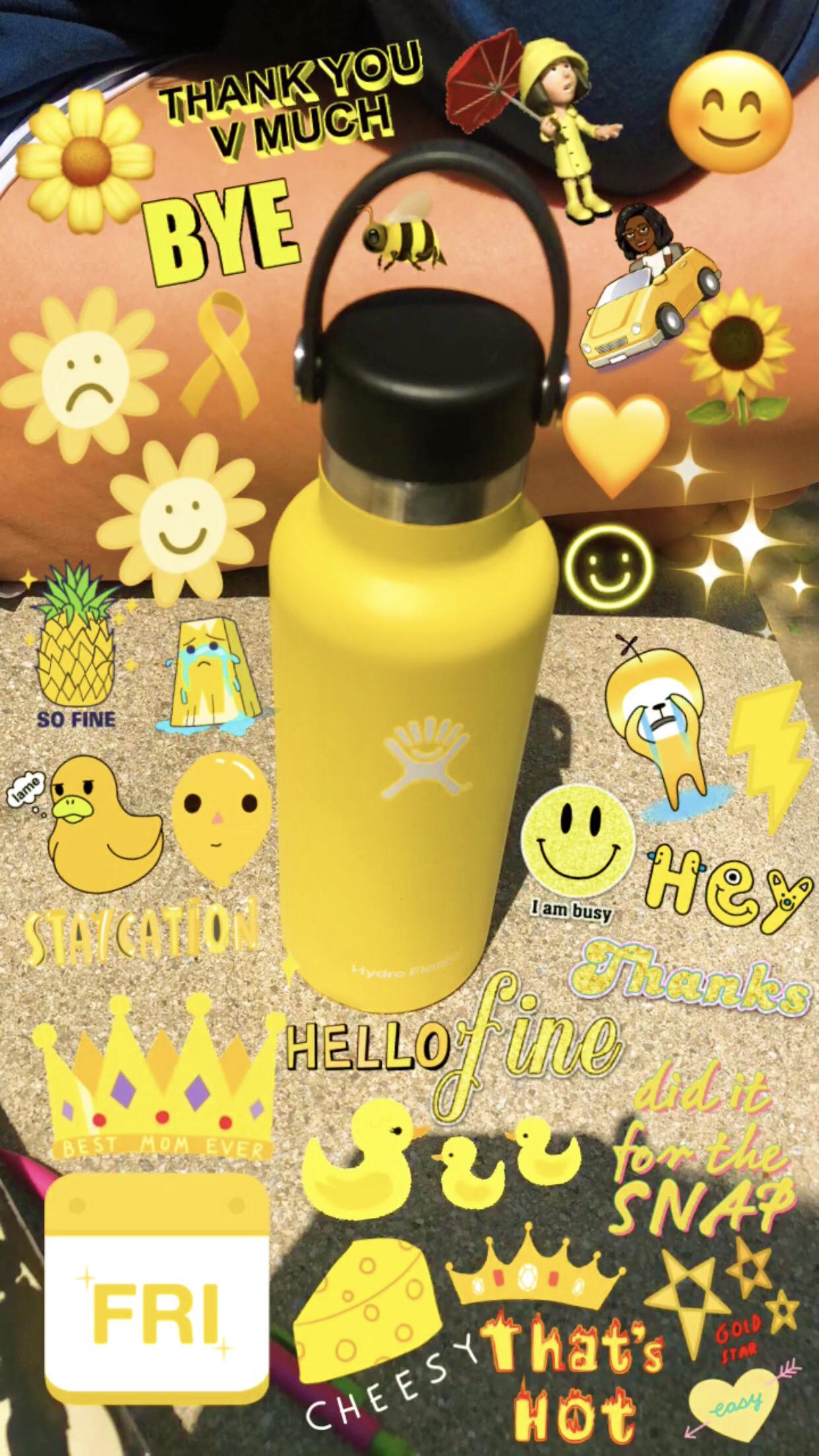 Hydroflask Hydroflask White Water Bottle Hydro Flask Bottle