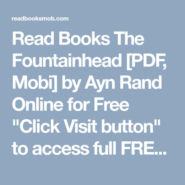 the fountainhead free