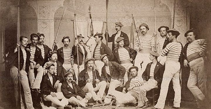 Roma Sparita - Canottieri 1875 Soci canottieri tevere remo
